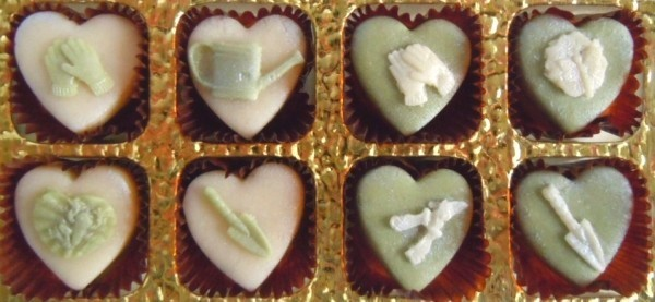 Perfect for a marzipan lovin' gardener!