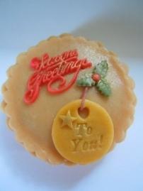 Personalised Christmas Pie