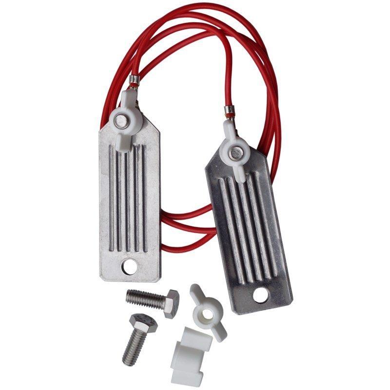 Edelstahl Stromverbinder für Bänder (Platten, 40mm, Edelstahl)