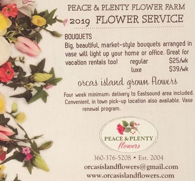 4 week flower CSA $100-$156 00015