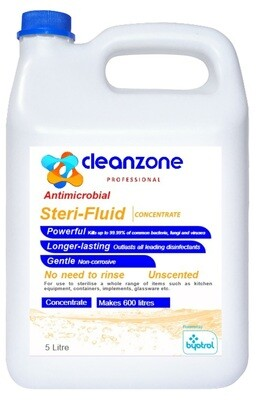 CleanZone Professional Steri-Fluid Concentrate 5L