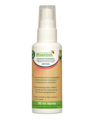 Mozzipel Natural Insect Repellent - NATURAL 50ml
