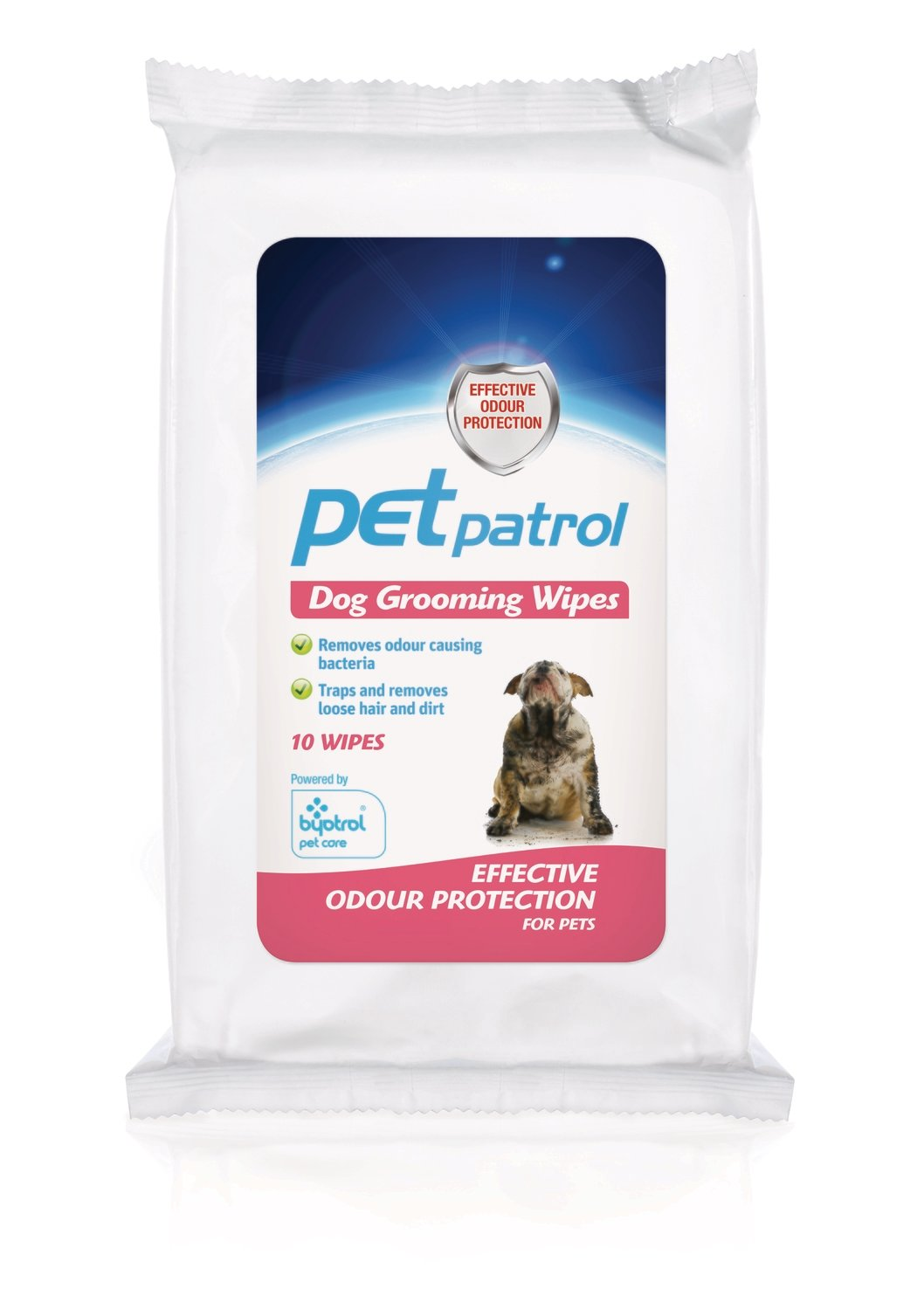 Pet Patrol Dog Grooming Wipes 10's