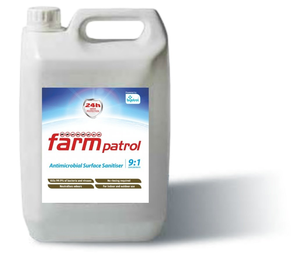 Farm Patrol Antimicrobial Surface Sanitiser 9:1 Concentrate 5L