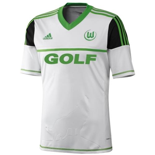 huge selection of f7f41 d8af0 Wolfsburg 2012/13 Away Jersey