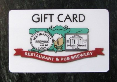 Willibrew Gift Card $10