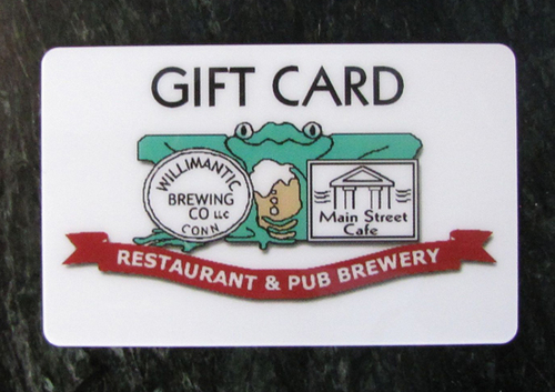 Willibrew Gift Card $100