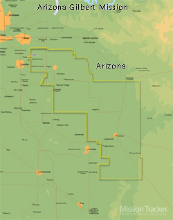 Map Of Arizona Only.Arizona