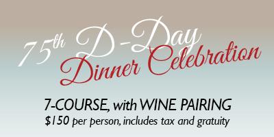 7-course dinner & Wine Pairing