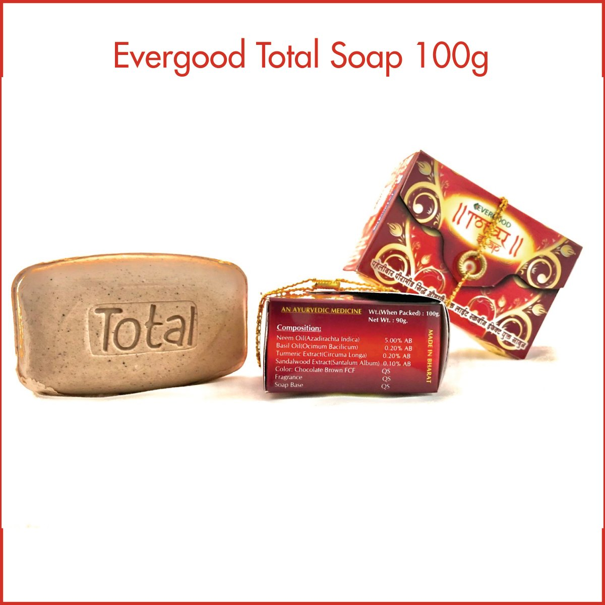 Evergood Total Soap 100g