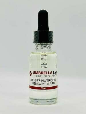 MK-677 NUTROBAL SARM - 20MG/ML - 30ML BOTTLE