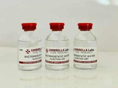 BACTERIOSTATIC WATER 30ML FOR PEPTIDES