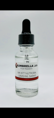 MK-677 NUTROBAL SARM - 10MG/ML - 30ML BOTTLE