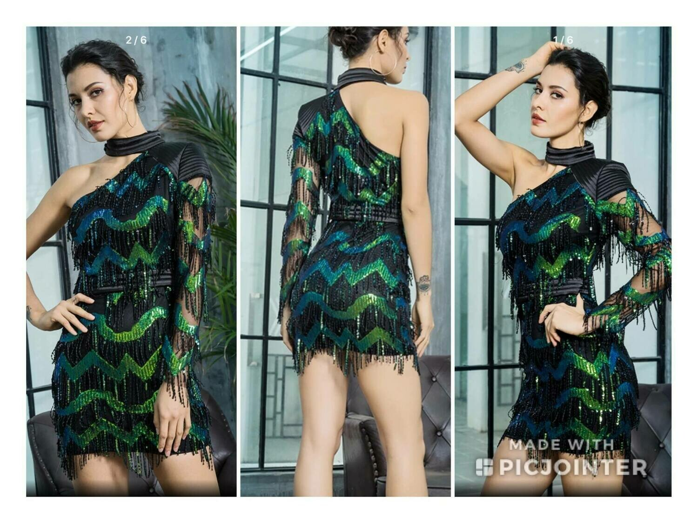 Fashion Sequins Dress