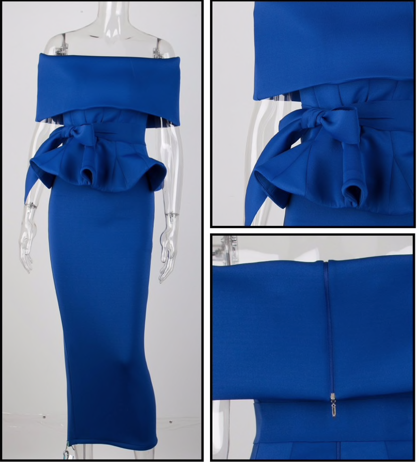 Scuba Two Piece Outfit