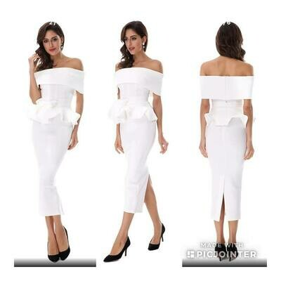 White Bandage Two Piece