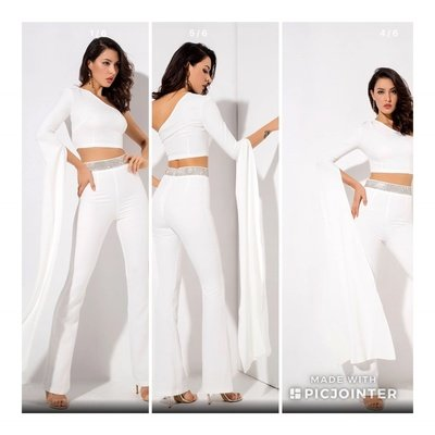 Crepe Two Piece Outfit