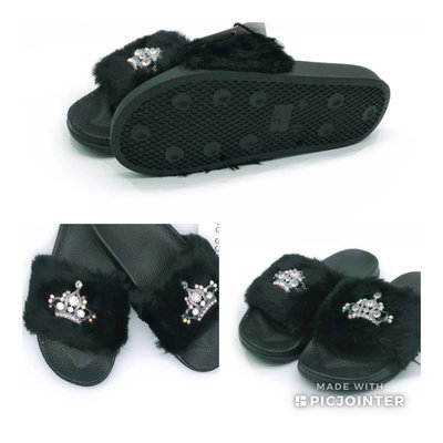 Crown Slippers
