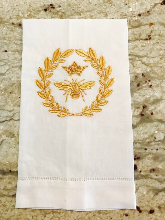 Bee Crown Towel