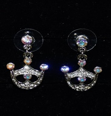 Crown Earrings