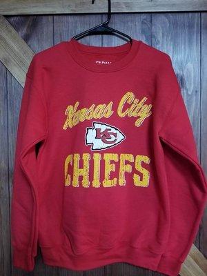 Gildan DryBlend Sweatshirt with Vintage Chiefs Design