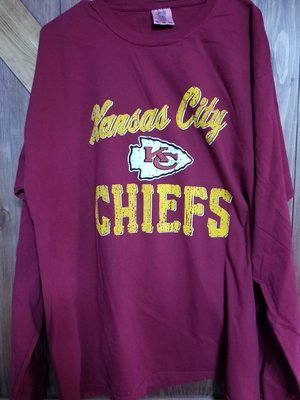 Long Sleeve Comfort Colors Tee for the Bold Chiefs Fan (Unbelievable Price!)