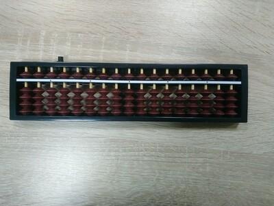 Абакус с кнопкой обнуления 17 рядов