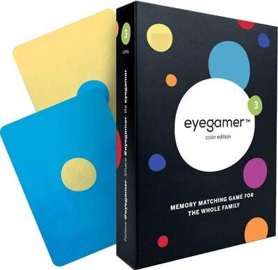 Eyegamer Memory Card Game - Colors Edition