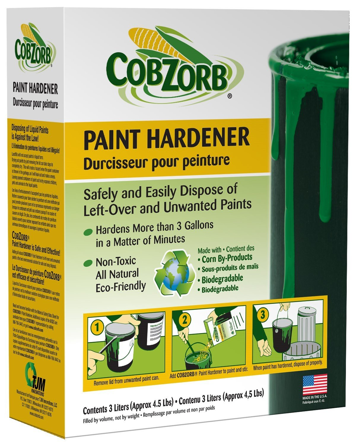 CobZorb® Paint Hardener 4.5 lb. Box CZP-box 4.5-DS