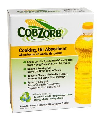 CobZorb® Cooking Oil Absorbent