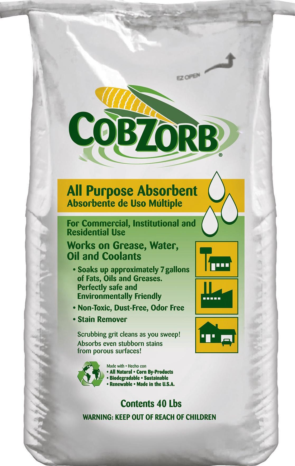 CobZorb® All Purpose Absorbent CZA-40 lb bag-DS