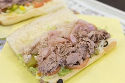 The Sensuous Sandwich- Ham, Turkey, Roast Beef