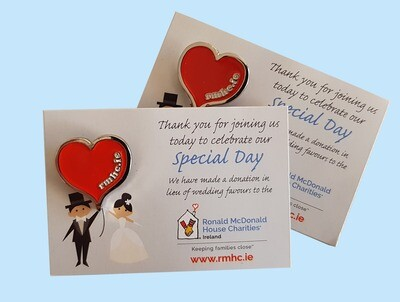 RMHC Wedding Favours €2 each