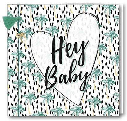 Wenskaart Bedel + Fringe - Hey Baby