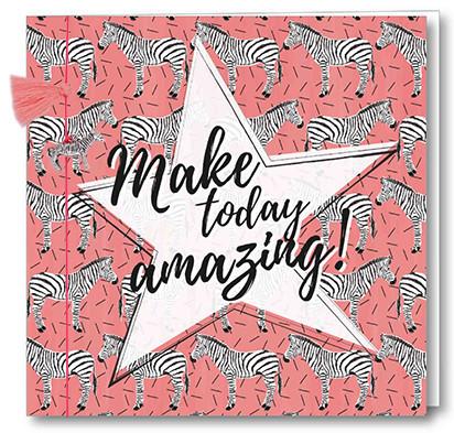 Wenskaart Bedel + Fringe - Make Today Amazing!