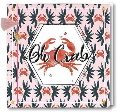 Wenskaart Bedel + Fringe - Oh Crab