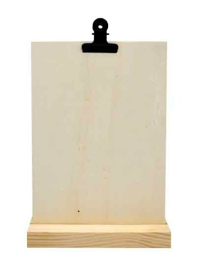 Kaartenstandaard hout A5