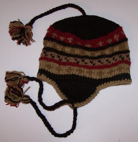 Hand Knitted Woolen Ski hat
