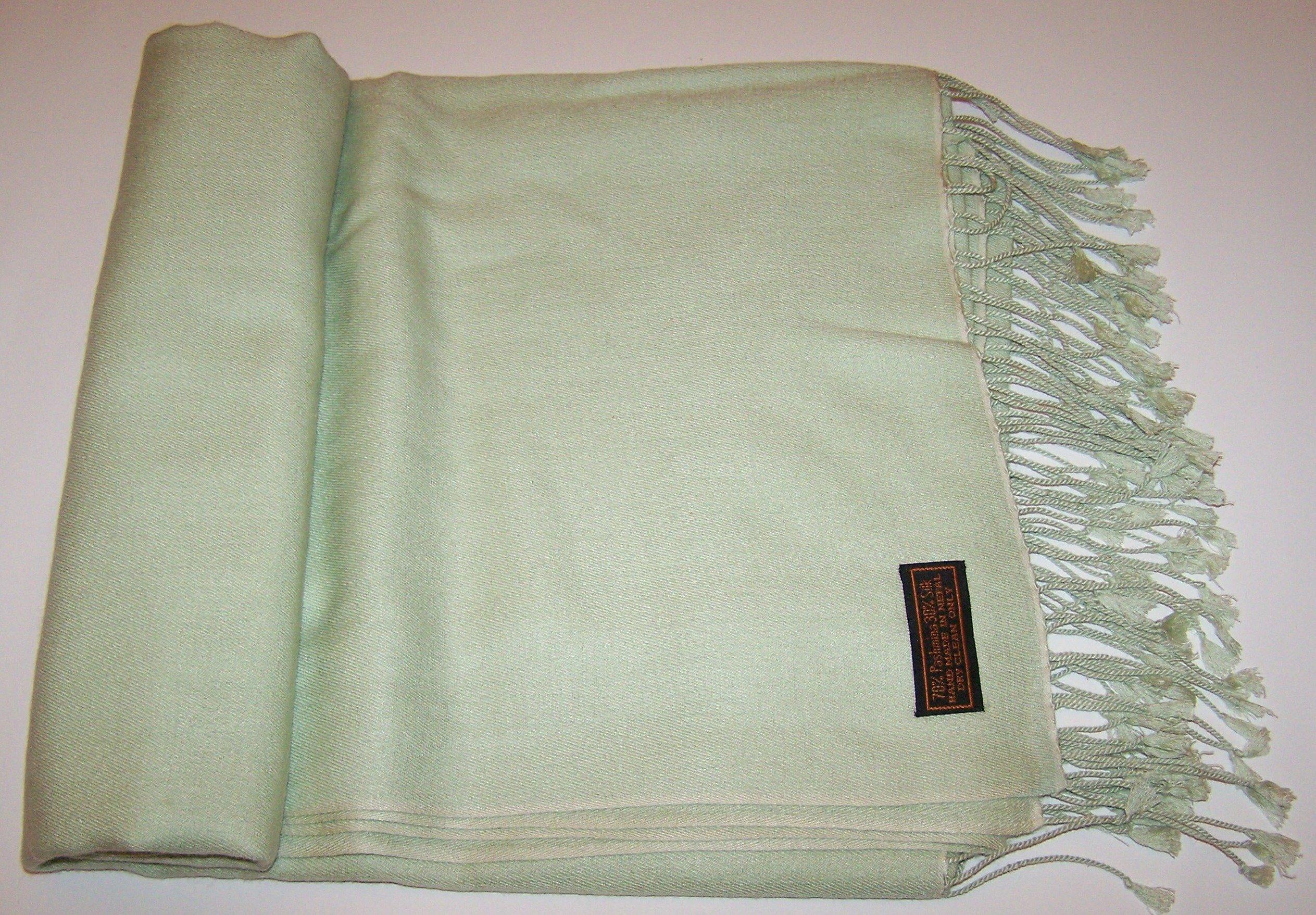 """Cashmere wrap - Size: 36"""" x 81"""" 12-0313"""