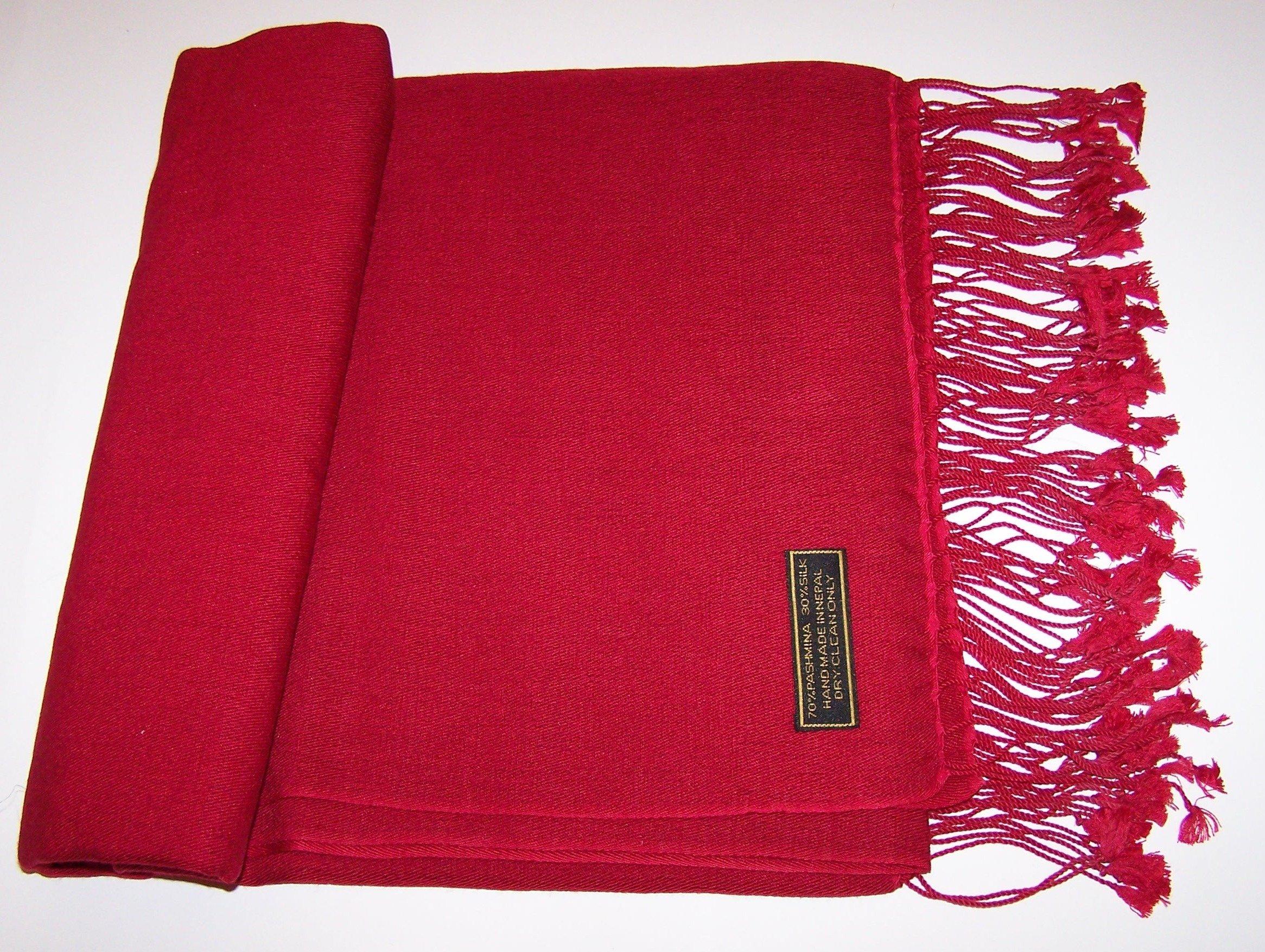"""Cashmere Wrap - Size: 36"""" x 81"""" 19-1655"""