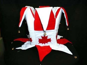 Canada maple leaf velvet hat CH-712