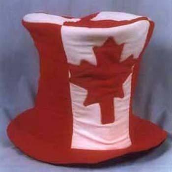 Canada maple leaf velvet hat CH-705