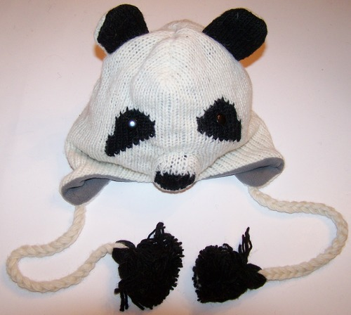 Hand Knitted Woolen Animal Design Hat