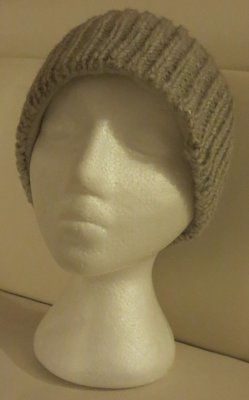 Woolen winter toque- Grey