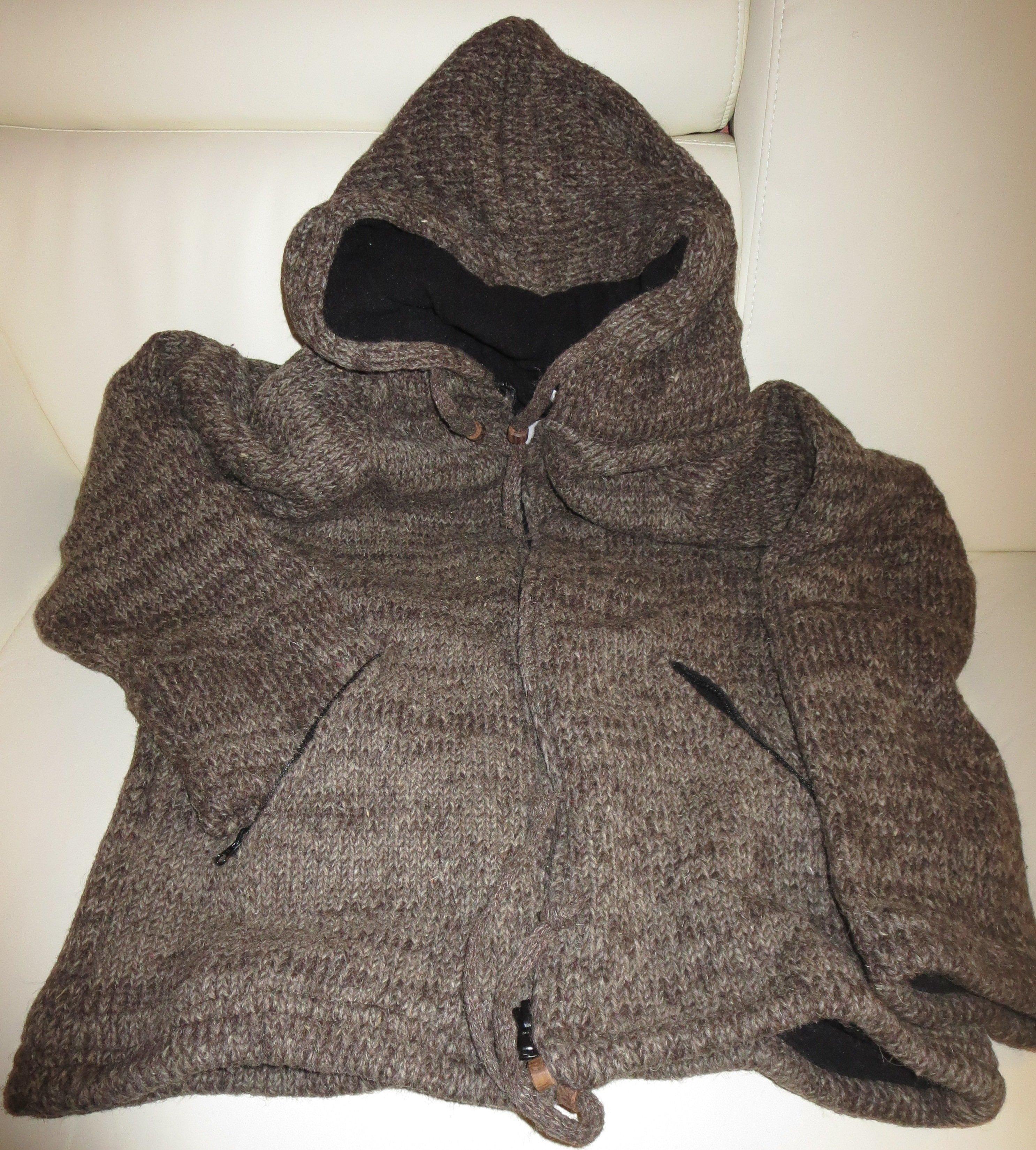 Woolen Jacket Hand Knitted 0782