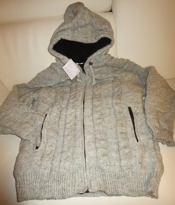 Woolen Jacket - Gray Clearance