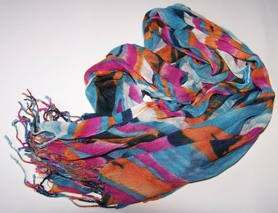 Silk, Chiffon, Cotton Scarves - Clearance