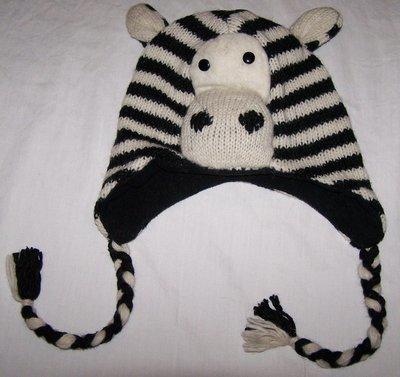 Hand Knitted Woolen Animal Design Hat