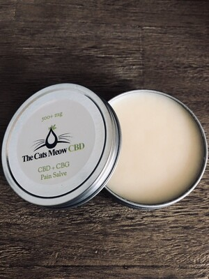 CBD + CBG Pain Salve (500 mg)