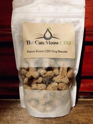 Peanut Butter CBD Dog Biscuits (100 mg)